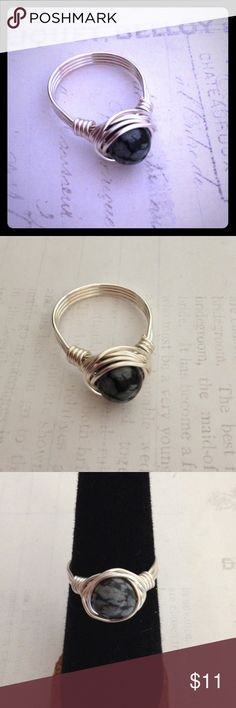 I just added this listing on Poshmark: Snowflake Obsidian WireWrap Ring. #shopmycloset #poshmark #fashion #shopping #style #forsale #Jewelry