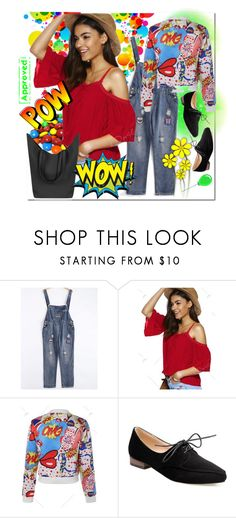 """""""Pow#Wow"""" by bamra ❤ liked on Polyvore featuring modern"""
