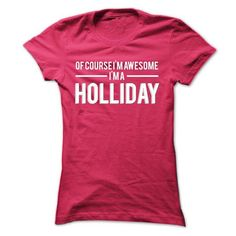 Team HOLLIDAY - Limited Edition - #hoodie creepypasta #fall hoodie. CHECK PRICE => https://www.sunfrog.com/Names/Team-HOLLIDAY--Limited-Edition-ntwwp-Ladies.html?68278