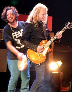 Ed & Jerry Cantrell of Alice in Chains