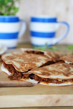 From The Kitchen - Barbecue Quesadillas