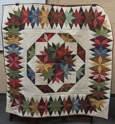 Capistrano, designed by Judy Martin. The Pattern is in Judy's book, Stellar Quilts.