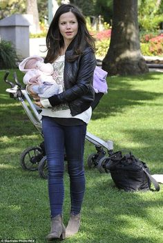 Tammin Sursok shows off two month old daughter Phoenix - Celebrity Fashion Trends