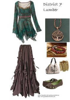 Col thing about migrating to District 7? All the clothes are in my colors, and all the jewelry is nature based! Happy Hippy Heaven!
