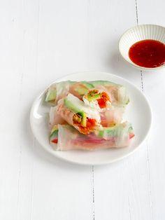 vietname springrolls recept van uitpaulineskeuken
