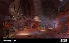 ArtStation - Overwatch - Route 66, Nick Carver