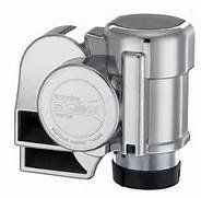 Nautilus Compact Chrome Mini Air Horn with Cover Full ABS Chrome cover to cover the compressor and give a beautiful finished look. Unique Compact Mini Air Horn design. Harmonized twin tone sound (530Hz and 680Hz) at 139dB. Compact size for easy installation (4 1/2 x 3 1/2 x 4 1/2 tall) with a water Resistant Compressor: 18 amps at 12volts. Will work with any 12 volt system (car, truck, motorcyc... #Stebel #Automotive_Parts_and_Accessories
