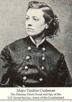Pauline Cushman - Union Scout and spy for US Secret Service during Civil War
