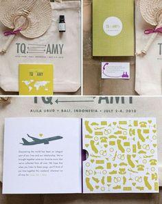 wedding travel invitation - Cerca con Google