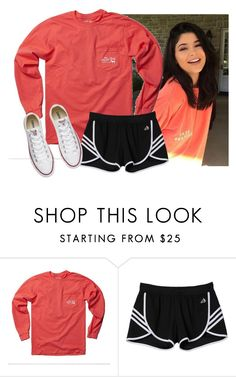 """Outfit Inspiration"" by aweaver-2 on Polyvore featuring adidas and Converse"