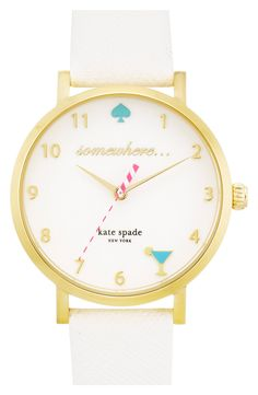 Always ready to celebrate when wearing this this clever Kate Spade watch!