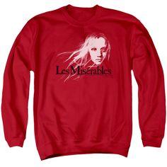 Les Miserables: Textured Logo Crewneck Sweatshirt