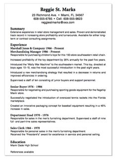 Scannable Resume Sample justin dauer 2012 example cv Example Of Senior Buyer Resume Httpexampleresumecvorgexample
