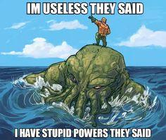 Aquaman ;-)