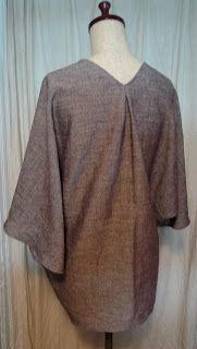 Drape drape 1 No.7 gather drape blouse