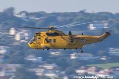 22 Sqn RAF Sea King HAR 3A - Jersey 2015