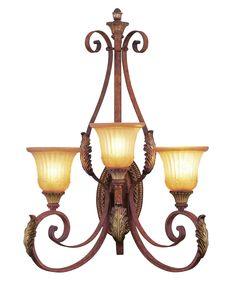 Livex Lighting 8585 Villa Verona 24 Inch Wall Sconce | Capitol Lighting 1-800lighting.com