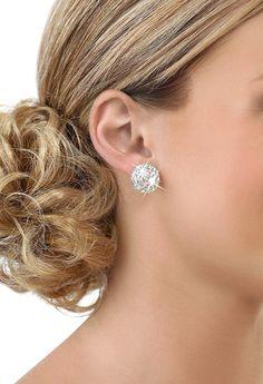 #Dancewear Solutions - #Dancewear Solutions 18mm Rhinestone Earrings - AdoreWe.com
