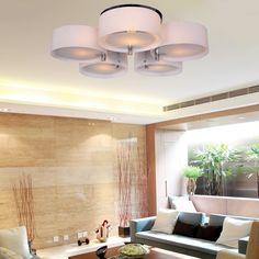 ALFRED Lámpara moderna de estar 5 luces ,Techo luz,montaje empotrado,Hallway, Bedroom, Living Room: Amazon.es: Iluminación