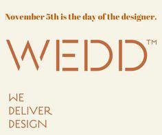 Dia do Designer. #dayofdesigner www.weddstore.com