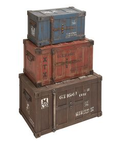 Look at this Trunk Décor Set on #zulily today!