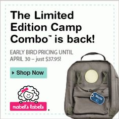 NEW at Meet Penny: Save $2 on Mabel's Labels Camp Combo