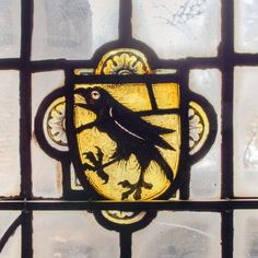 Stained Glass -- Old Crow by dpanyikdale, via Flickr