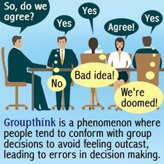 GROUPTHINK is one of four EXTERNAL factors that can impact the influence a micro or macro-influencer has over social connections
