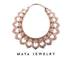 Maya Jewelry The Electric Lady earrings