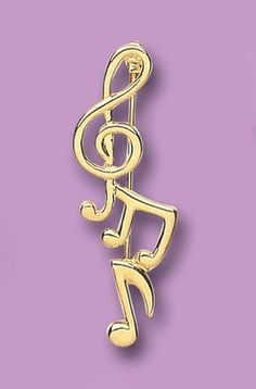 Beautiful Yellow Gold Plated Treble Clef  Music Brooch (4080-3) by J R Jewellery, http://www.amazon.co.uk/dp/B007ITGYGA/ref=cm_sw_r_pi_dp_fq3Vqb0W3YW6S