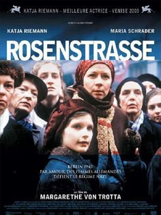 """Rosenstrasse"" de Margarethe von Trotta, dimanche 16 mars à 21h au Forum des images ! http://www.forumdesimages.fr/les-films/les-programmes/berlin/rosenstrasse"