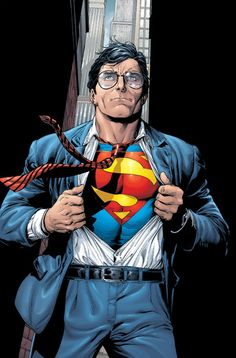 Clark Kent aka Superman by Gary Frank  http://comicartcommunity.com/gallery/details.php?image_id=48166