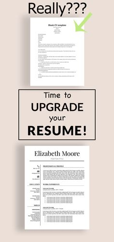 Beautiful Resume Template With Cover Letter And Reference Template