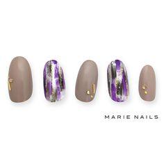 #マリーネイルズ #marienails #ネイルデザイン #かわいい #ネイル #kawaii #kyoto #ジェルネイル#trend #nail #toocute #pretty #nails #ファッション #naildesign #awsome #beautiful #nailart #tokyo #fashion #ootd #nailist #ネイリスト #ショートネイル #gelnails #instanails #newnail #cool #purple #beige
