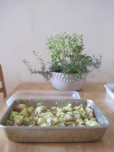 french potato salad, ina garten style.