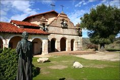 Image detail for -The reconstructed Mission San Antonio de Padua as it appears today ...