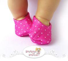 Sapatilha Pink Poá ♥ Tamanho P e M