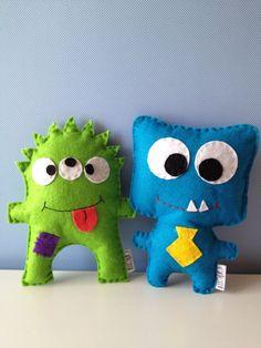 funny monster party felt favors!!