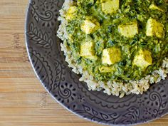 Palak Paneer; Indian Spinach & Cheese