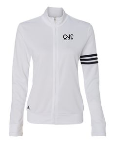 A191 Women's ClimaLite® 3-Stripes French Terry Full-Zip Jacket