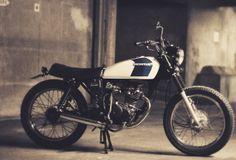 Cafe Racer Design Source Honda CG125