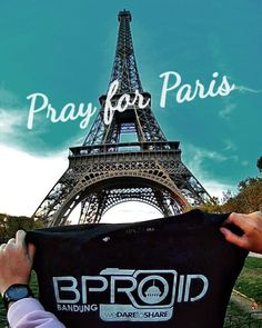 """Good morning good people... Pray for Paris from Us BPROIDBANDUNG @bproidbandung. And also pray for the World.  """"Hate cannot drive out hate but love can."""" Mathin Luther Jr.  #bproidbandung #prayforparis by tyaasfitria"""