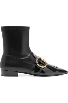 Boots for Women, Booties On Sale, Black, Leather, 2017, 2.5 Prada