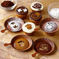 sailaweigh:    Autumn Cupcake Stencils