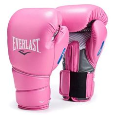 Everlast Protex 2 Womens Heavy Boxing Punch Bag Training Gloves - Pink