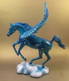 Horsenfeffer custom Breyer horse Pegasus.