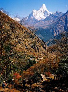 Nepal, Ama Dablam