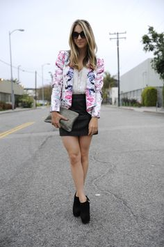 Love this whole outfit but especially the blazer!