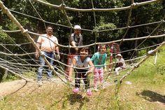 Double Rope Bridge