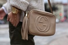 Gucci Soho Disco bag in Nude